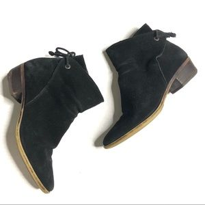 Lucky Brand Gwenore Tie Bootie